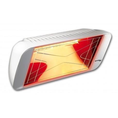 Chauffage électrique radiant lampe infrarouge IRC HELIOSA 66 - 1500 WATTS IPX5 Blanc