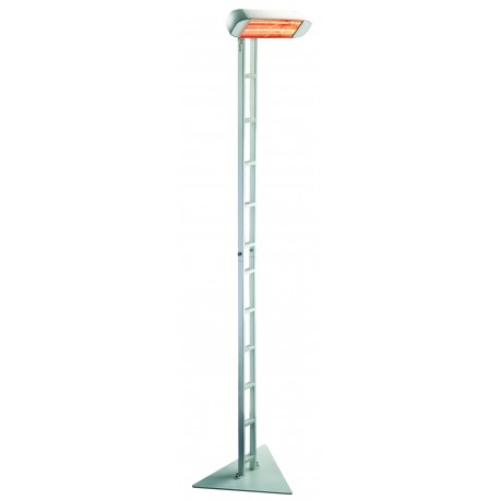 Chauffage électrique radiant lampe infrarouge IRC HELIOSA 991X5 - 1500 WATTS IPX5 Blanc