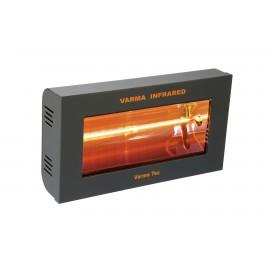 Chauffage électrique radiant lampe infrarouge IRC VARMA 400 - 1500 WATTS IPX5 Fer forgé