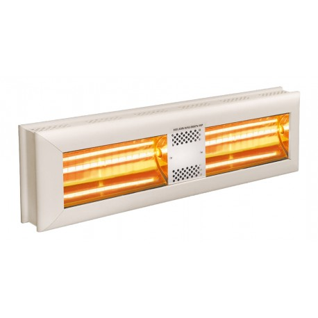 Chauffage électrique radiant lampe infrarouge IRC HELIOS HIGH POWER HP2-40 - 4000 WATTS IP20 MONOPHASE