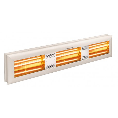 Chauffage électrique radiant lampe infrarouge IRC HELIOS HIGH POWER HP3-45T - 4500 WATTS IP20 MONO/TRIPHASE