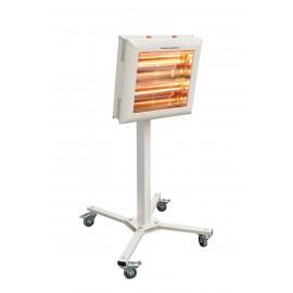 Chauffage électrique radiant lampe infrarouge IRC HELIOS HIGH POWER ROBOT TEL 3000 WATTS IP20