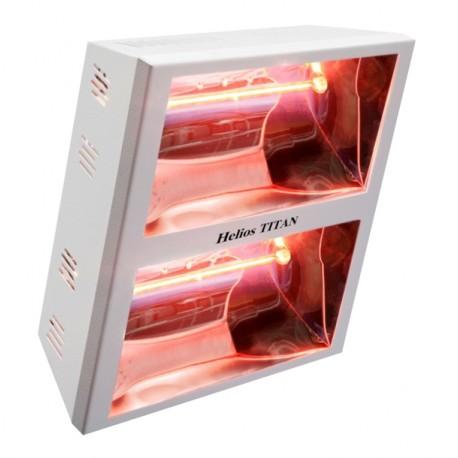 Chauffage électrique radiant lampe infrarouge IRC HELIOS TITAN EHTV2-40 - 4000 WATTS IP25 MONOPHASE WATERPROOF