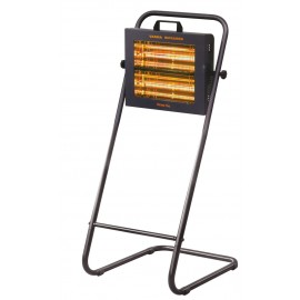 Chauffage électrique radiant lampe infrarouge IRC HELIOS WATERPROOF V400F - 3000 WATTS IP20