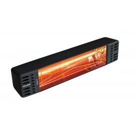 Chauffage électrique radiant lampe infrarouge IRC VARMA TOP - 1500 WATTS IPX5 Fer forgé