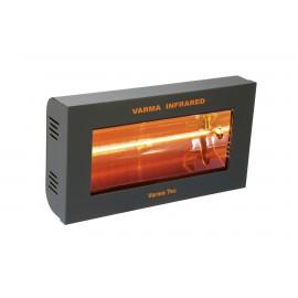 Chauffage électrique radiant lampe infrarouge IRC VARMA 400 - 2000 WATTS IPX5 Fer forgé