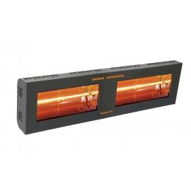 Chauffage électrique radiant lampe infrarouge IRC VARMA 400/2 - 3000 WATTS IPX5 Fer forgé