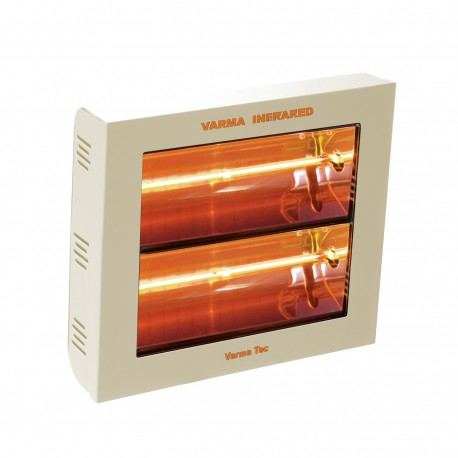 Chauffage électrique radiant lampe infrarouge IRC VARMA 400/2V - 3000 WATTS IPX5 Crème