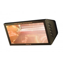 Chauffage électrique radiant lampe infrarouge IRC VARMA WR65/20 - 2000 WATTS IPX5 Fer forgé