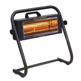 Chauffage électrique radiant lampe infrarouge IRC VARMA FIRE 3 - 1500 WATTS IPX5 WATERPROOF
