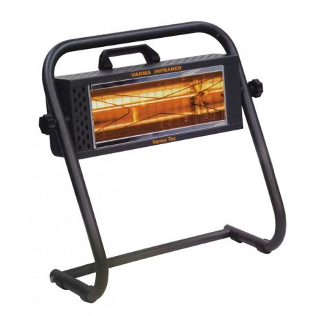 Chauffage électrique radiant lampe infrarouge IRC VARMA FIRE 3 - 1500 WATTS IPX5 WATERPROOF
