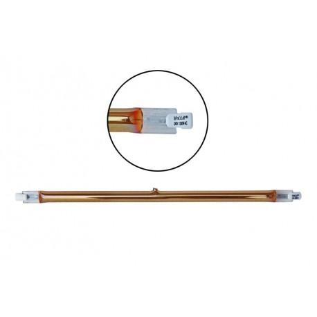 Ampoule Halogène 1300W 255mm - IP20 R7S CAPS pour lampe chauffante infrarouge IRC