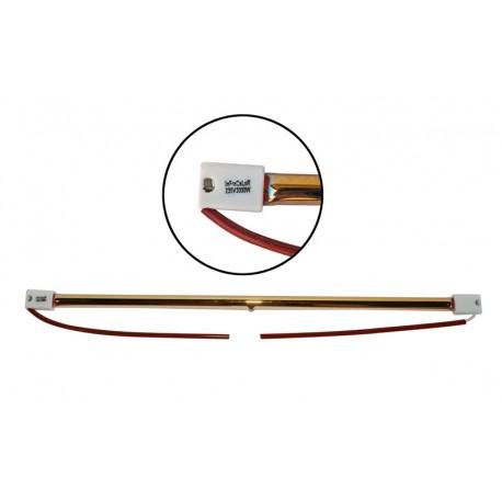 Ampoule Halogène 2000W 357mm - IP20 SK15 CAPS pour lampe chauffante infrarouge IRC