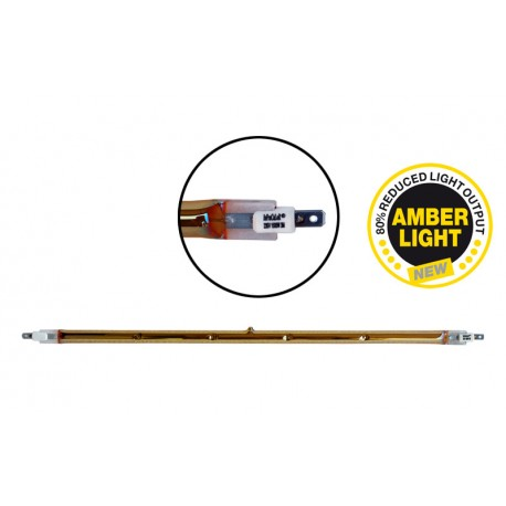 Ampoule Halogène Ampoule infrarouge IRC 1500W 357mm - IPX5 Amber light pour lampe chauffante infrarouge IRC