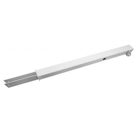 Support 50cm pour fixation des appareils sur les claustras oasidehor Blanc