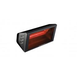 Chauffage électrique lampe infrarouge IRC HELIOS RADIANT IRK BLACK - 2000 WATTS IP23 WATERPROOF