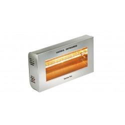 Chauffage électrique radiant lampe infrarouge IRC VARMA 400 INOX AISI 304 - 2000 WATTS IPX5...