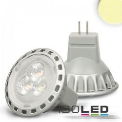 Lot de 6 Ampoules LED MR11 2,5 W, 30°, blanc chaud