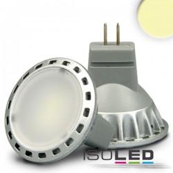 Lot de 6 Ampoules LED MR11 2 W, diffus, blanc chaud