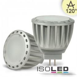 Lot de 6 Ampoules LED MR11 4W, diffus, blanc chaud, à intensité variable