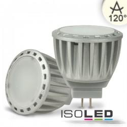 Lot de 6 Ampoules LED MR11 4W, diffus, blanc neutre, à intensité variable