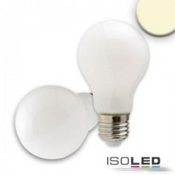 Lot de 3 ampoules LED E27, 8 W, opaque, blanc chaud, à intensité variable