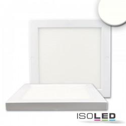 Plafonnier Slim 18 mm, blanc, 18 W, transformateur intégré, blanc neutre