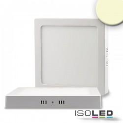 Plafonnier LED blanc, 24W, carré, 300x300 mm, IRC80, 3000K, grad TRIAC