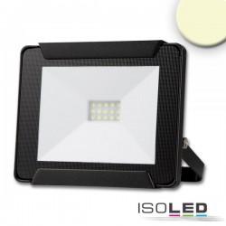 Lot de 3 projecteurs LED 10 W, blanc chaud, noir, IP65