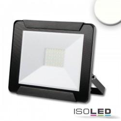 Projecteur LED 30 W, blanc neutre, noir, IP65