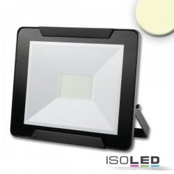 Projecteur LED 50 W, blanc chaud, noir, IP65