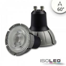 Lot de 3 ampoules LED GU10 spectre complet 7 W COB, 60°, 4'000 K, à intensité variable