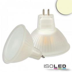 Lot de 6 ampoules LED MR16 3,5 W, 270°, opale, blanc chaud