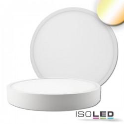 Plafonnier LED PRO blanc, 30W, rond, colorswitch 2700/3000/4000K, grad TRIAC